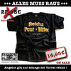 T-Shirt Reichs-Post-Bitter-Airbrush-Art
