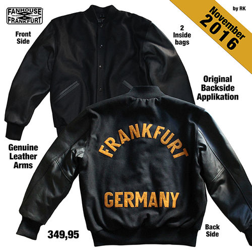 Frankfurt Germany American Highschool Baseball-Jacke