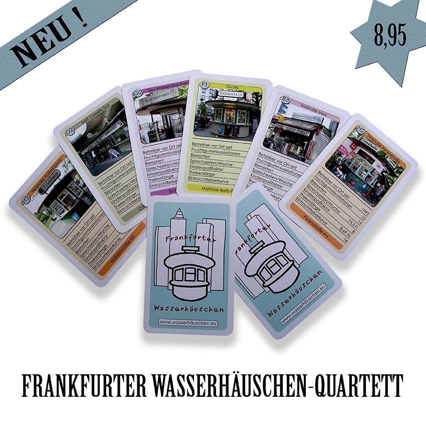 Frankfurter Wasserhäuschen Quartett Fanhouse Frankfurt