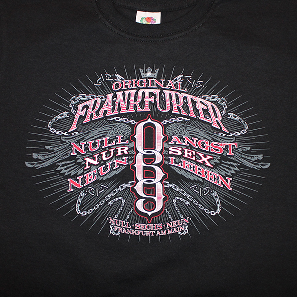 t shirt 069 original frankfurter vorwahl fanhouse frankfurt. Black Bedroom Furniture Sets. Home Design Ideas